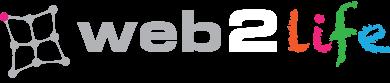 Logo Web2life Net Sfondo Scuro