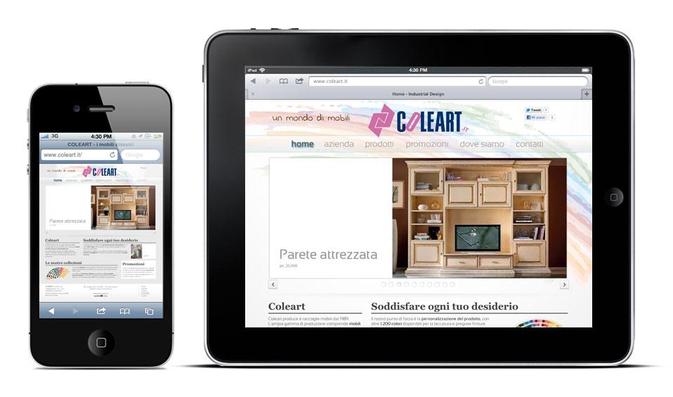 Coleart per iPad e iPhone
