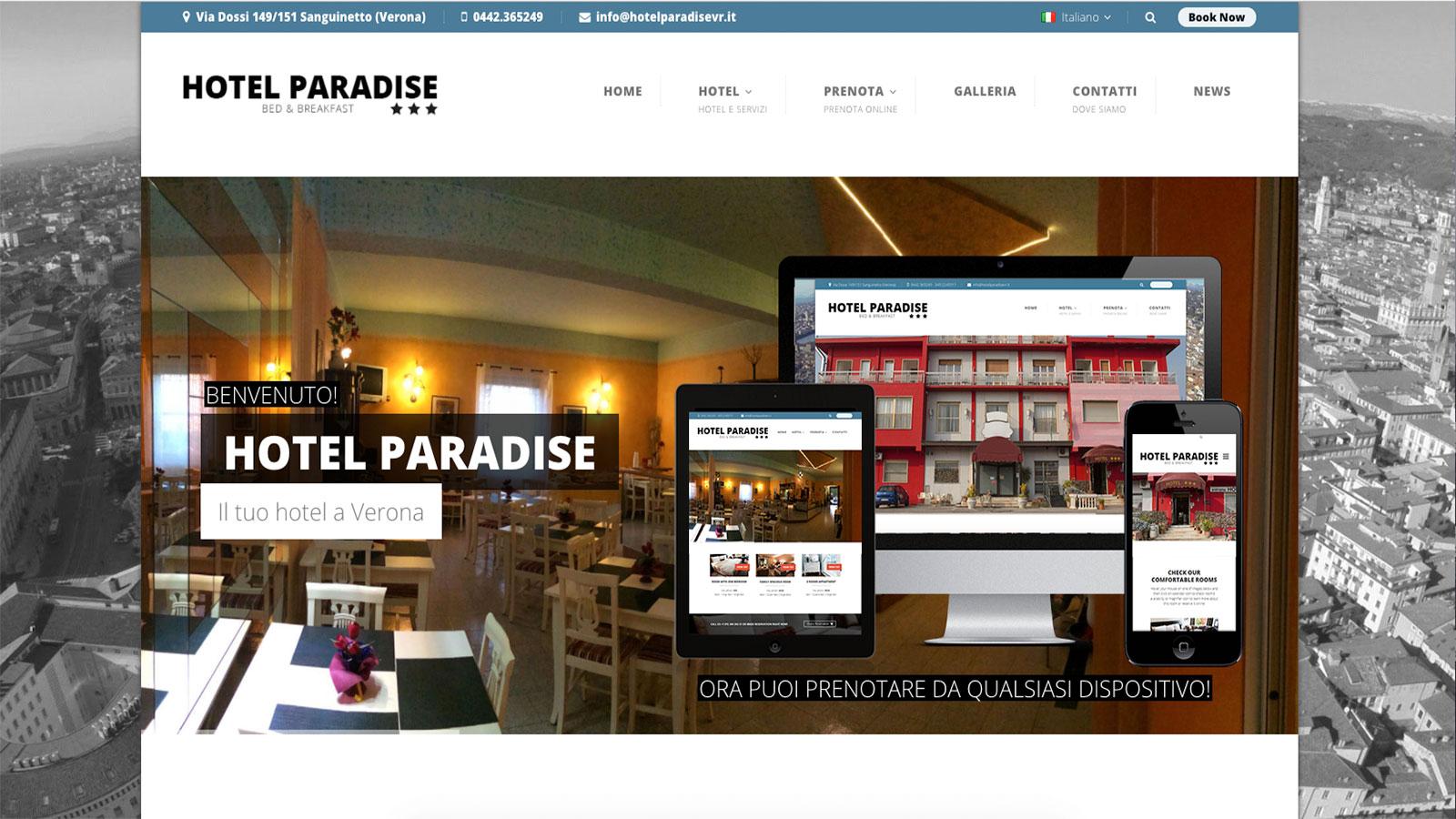 Hotel Paradise Verona